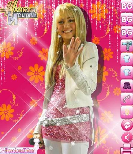 the game hannah montana makeover style designed by you